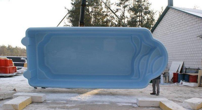 GFK Schwimmbecken Swimming Pool Fertigpool Fertigbecken