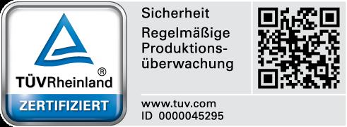 GFK Pool TÜV Rheinland Zertifiziert